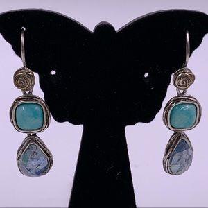 Never worn Vintage PZ (Israel) Designer Earrings